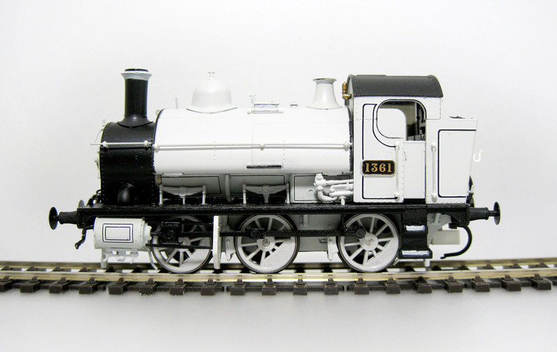 Heljan - 1300 - GWR Saddle Tank in photographic Grey