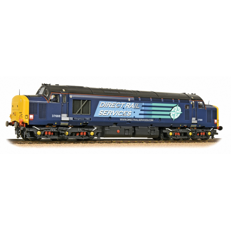 Bachmann - 32-392 - Class 37 688 Kingmoor TMD DRS Livery - BVR Price £127.50