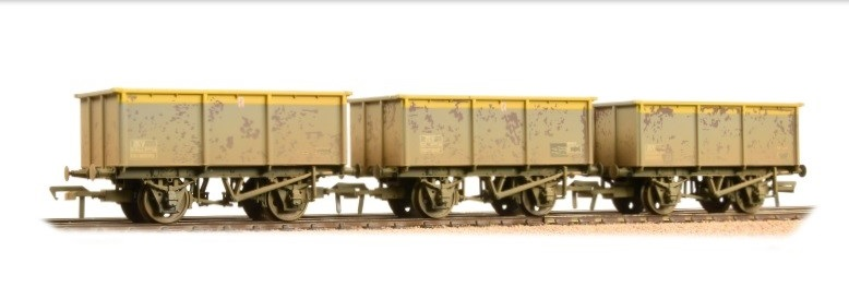 Bachmann - 37-275SD - 27T ZKV Tipplers in BR Dutch Weathered - £59.95