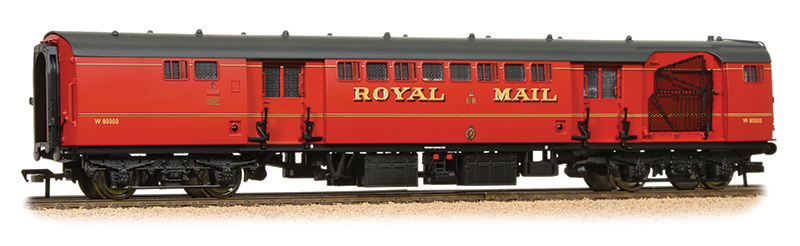 Bachmann - 39-421A - Royal Mail TPO Coach with Nets