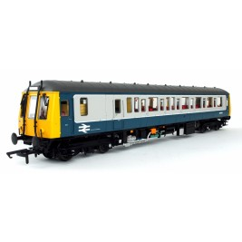 Dapol - 4D-015-001 - Class 122 Bubble Car in BR Blue & Grey Livery