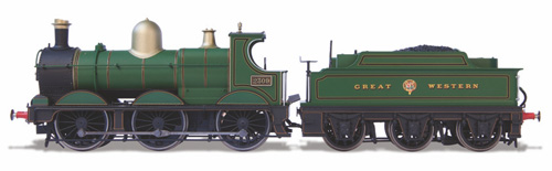 Oxford Rail - OR76DG001 - Dean Goods 2309 GWR Lined Green