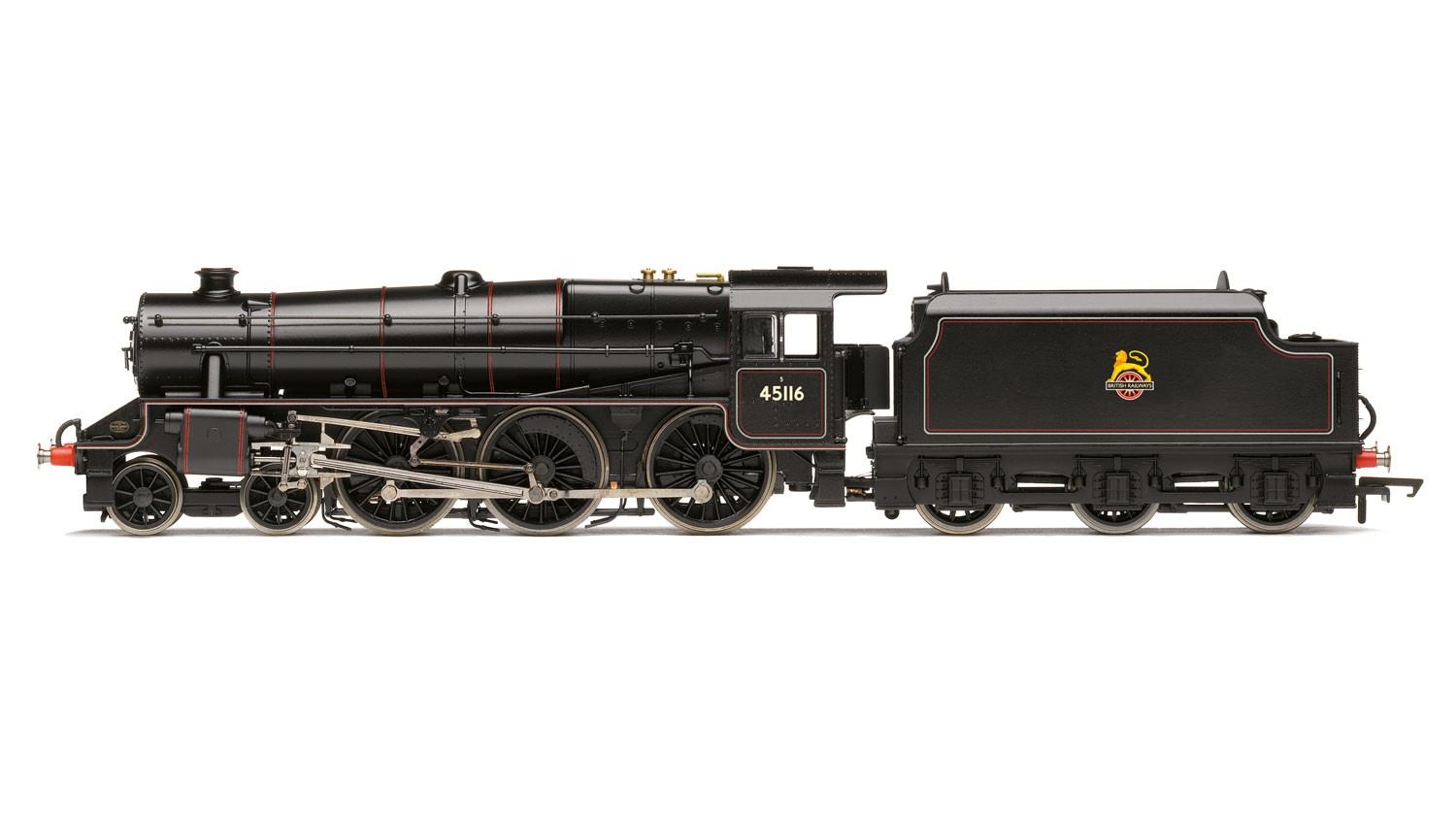 Hornby - R3385TTS - BR Black 5 45116 BR Black Early Crest