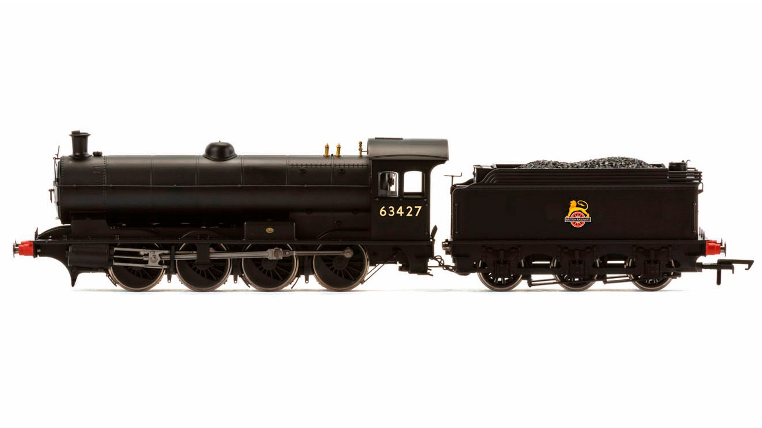 Hornby - R3542 - Raven Q6 0-8-0 63427 BR Black Early Crest