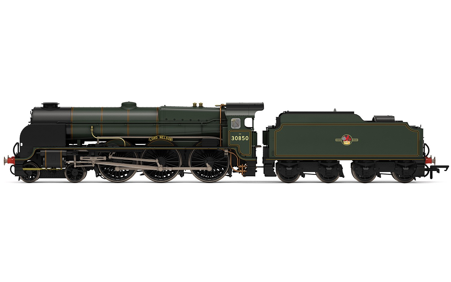 Hornby - R3603TTS - 30850 Lord Nelson BR Green TTS Sound