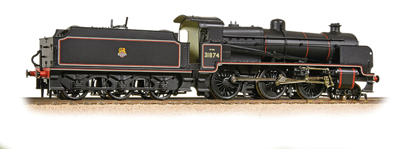 Bachmann - 32-165 - Southern N Class 31874 BR Lined Black Early Crest