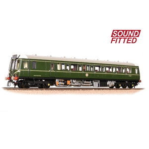 Bachmann - 32-525SF - Class 121 Single-Car DMU BR Green (Speed Whiskers)