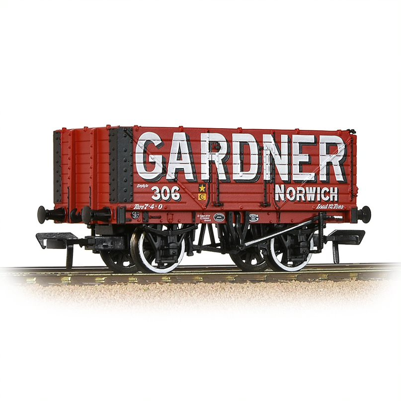 Bachmann - 37-076R - 7 Plank Opoen Wagon Gardner of Norwich - BVR exclusive