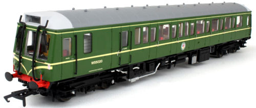 Dapol 4d 009 001 Cl121 Bubble Car W55020 Br Green With Whiskers