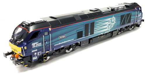 Dapol - 4D-022-010 - Class 68 008 Avenger Late/Modified DRS