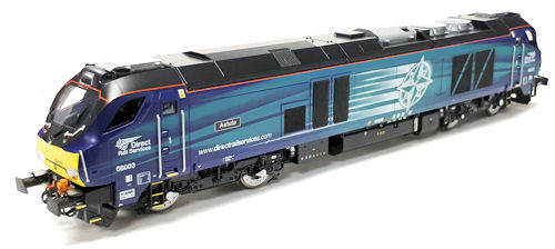 Dapol - 4D-022-008 - Class 68 003 Astute in Early Service DRS Livery