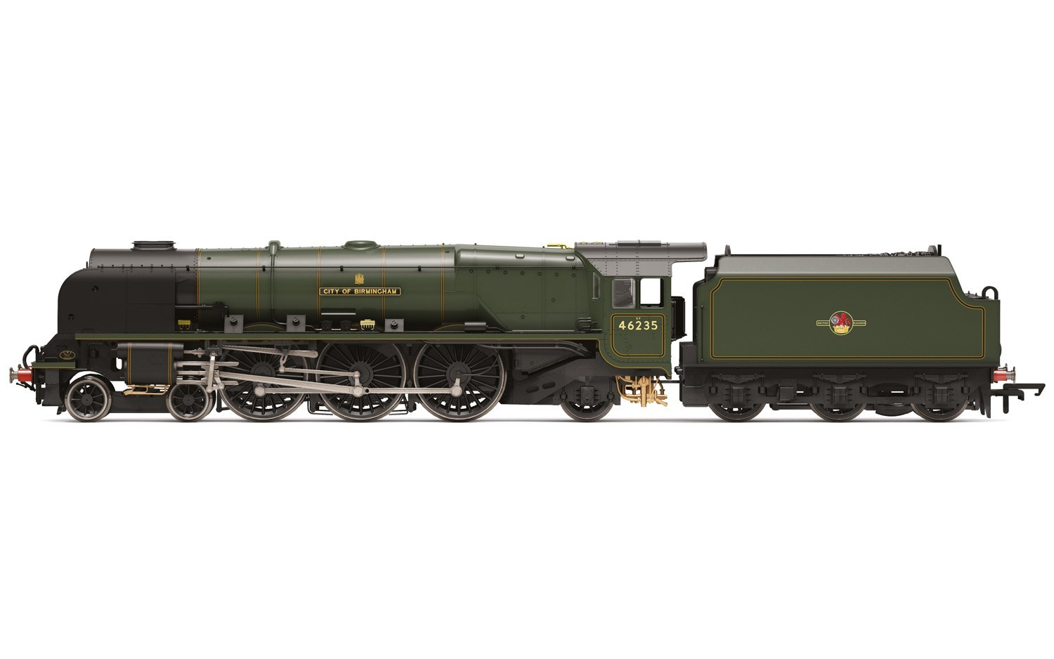 Hornby - R3509TTS - R3509TTS -  BR 4-6-2 'City of Birmingham' Princess Coronation with TTS Sound