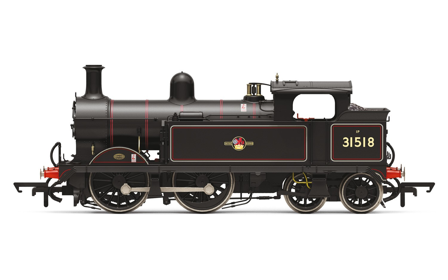 Hornby - R3539 - Wainwright H Class 0-4-4T Late BR 31518