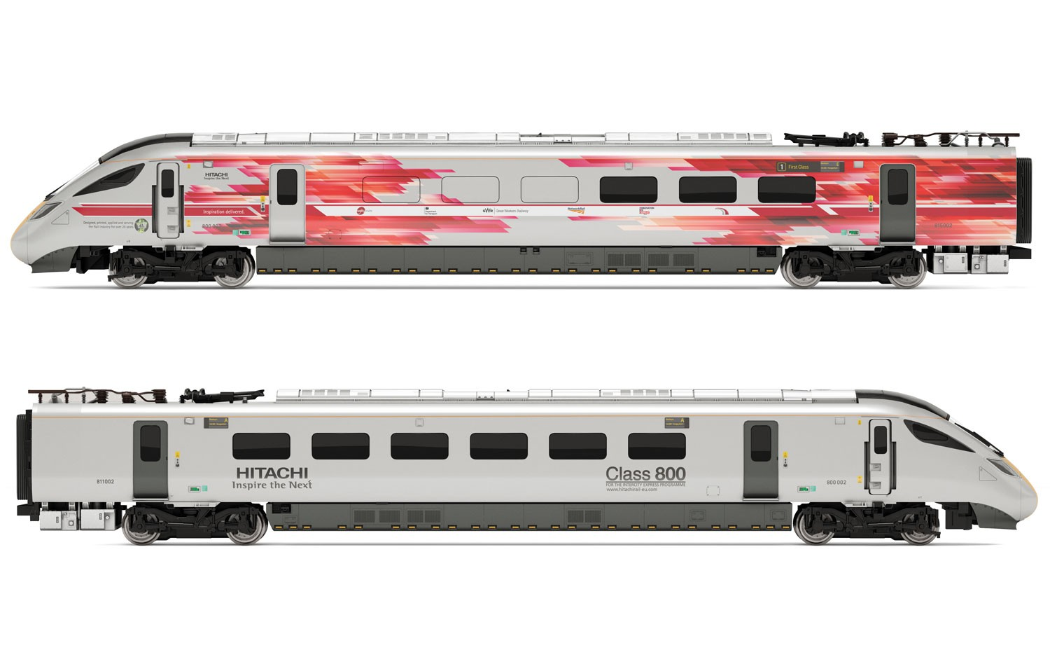 Hornby - R3579 - Hitachi IEP Bi-Mode Class 800 2 Car Pack