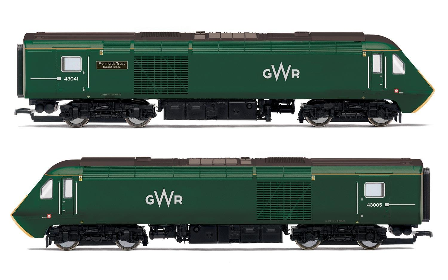 Hornby - R3685 - Class 43 HST power car pack GWR green Livery