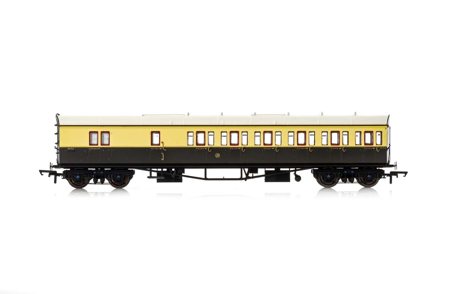 Hornby - R4877A - GWR Collett 57' Bow Ended Brake Third (Right Hand) 5504