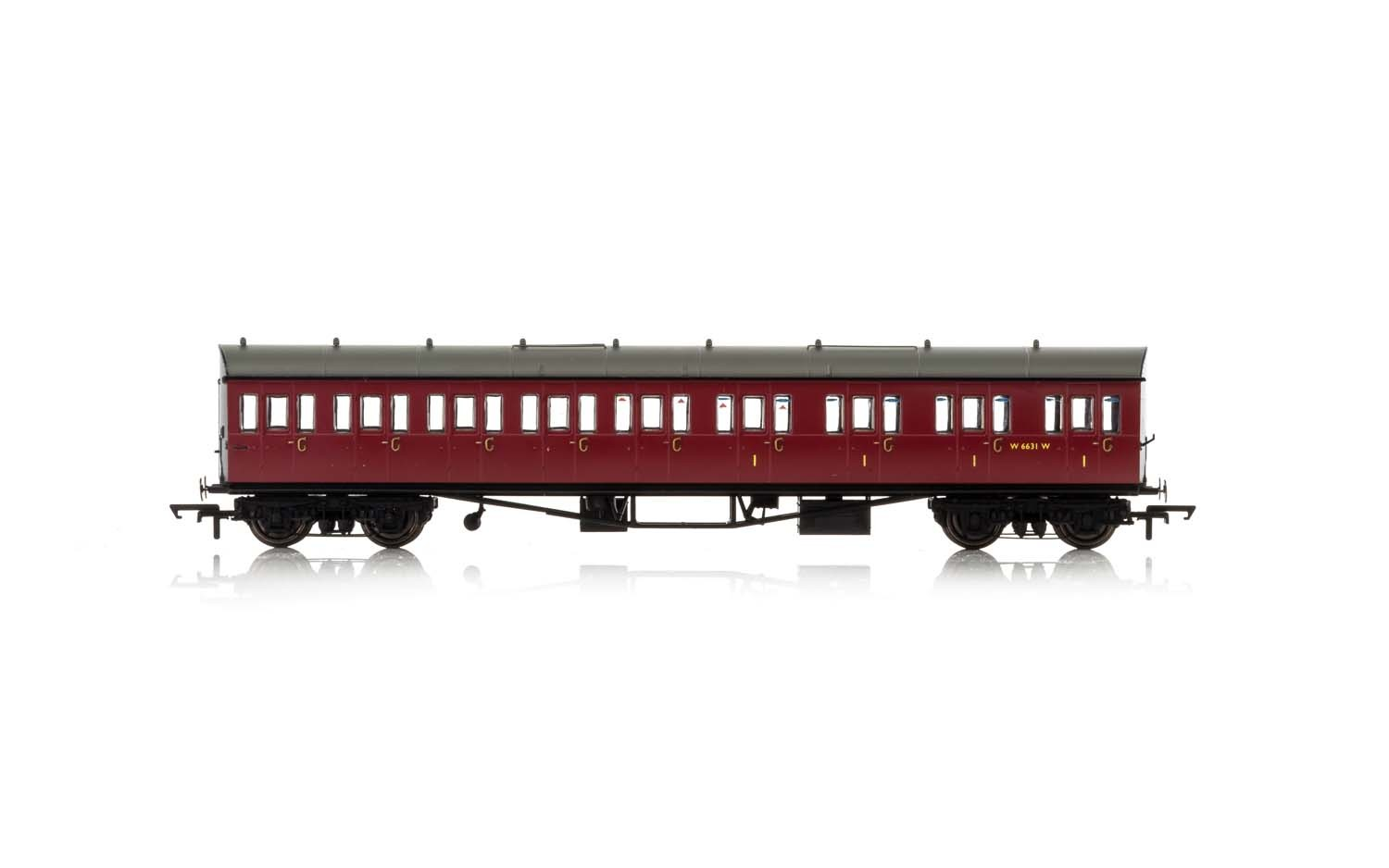Hornby - R4879A - BR, Collett 57' Bow Ended Composite (Right Hand) W6242W