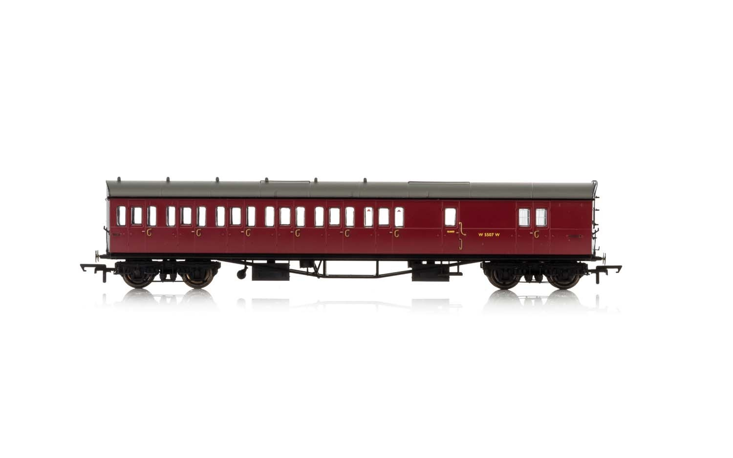 Hornby - R4880 - BR Collett 57' Bow Ended Brake Third (Left Hand) W5507W