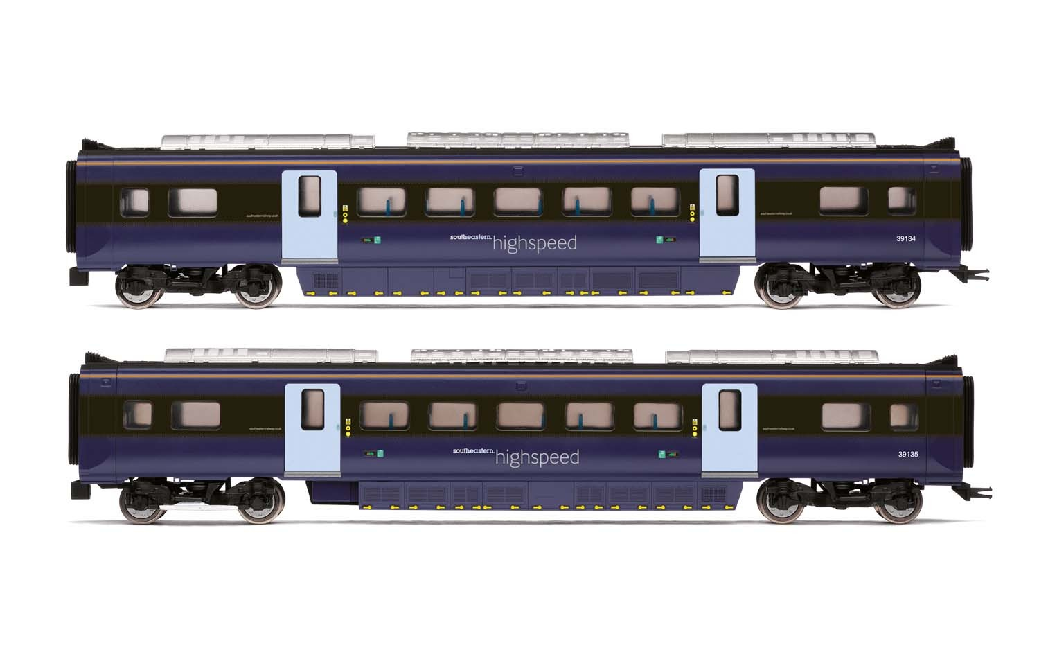 Hornby - R4999 - South Eastern Class 395 Highspeed Train 2-car Pack