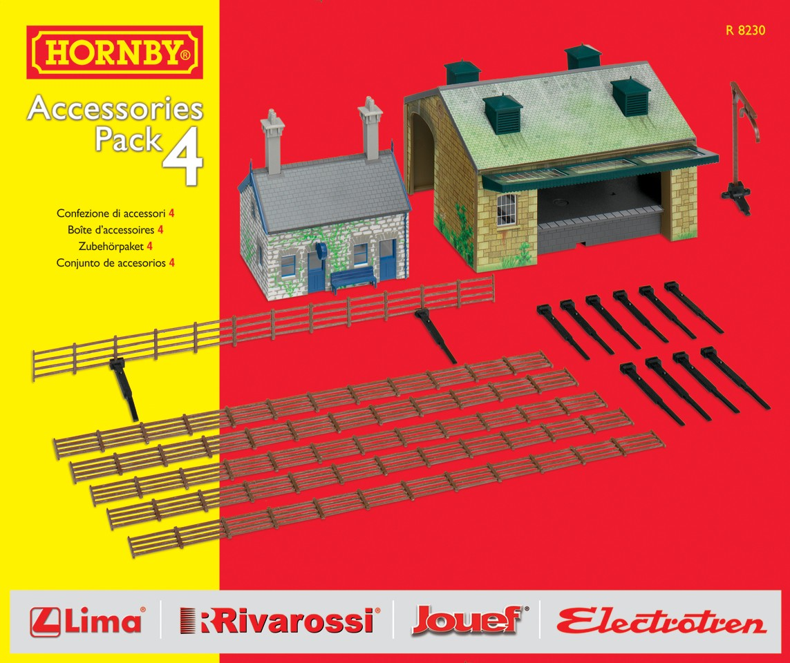 Hornby - R8230 - TrakMat Accessories Pack 4