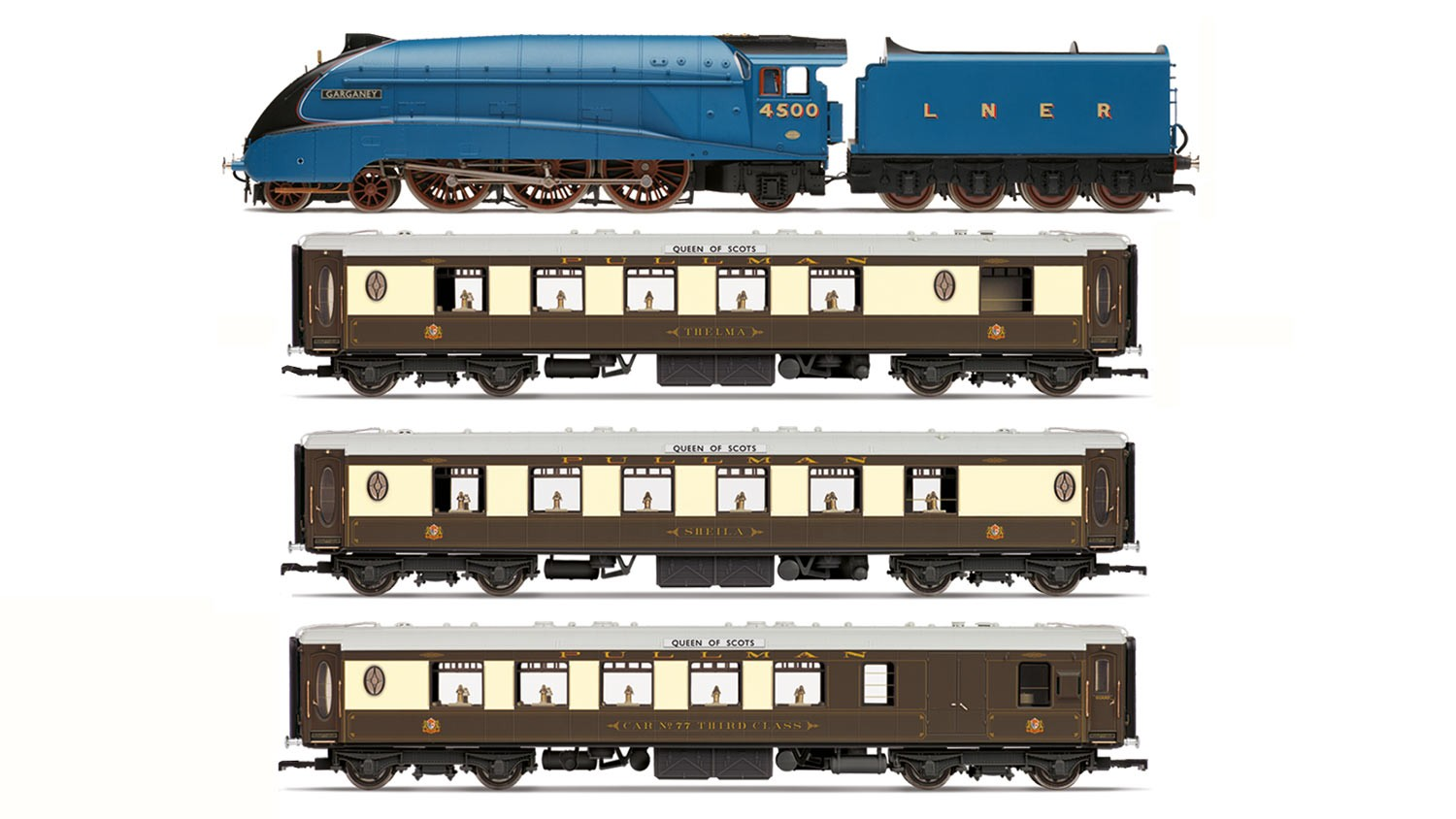 Hornby - R3402 - LNER Queen of Scots Train Pack (Limited Edition)